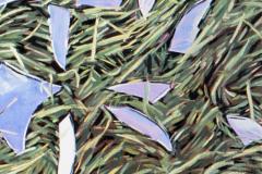 Spiegels in gras 1979 100x90
