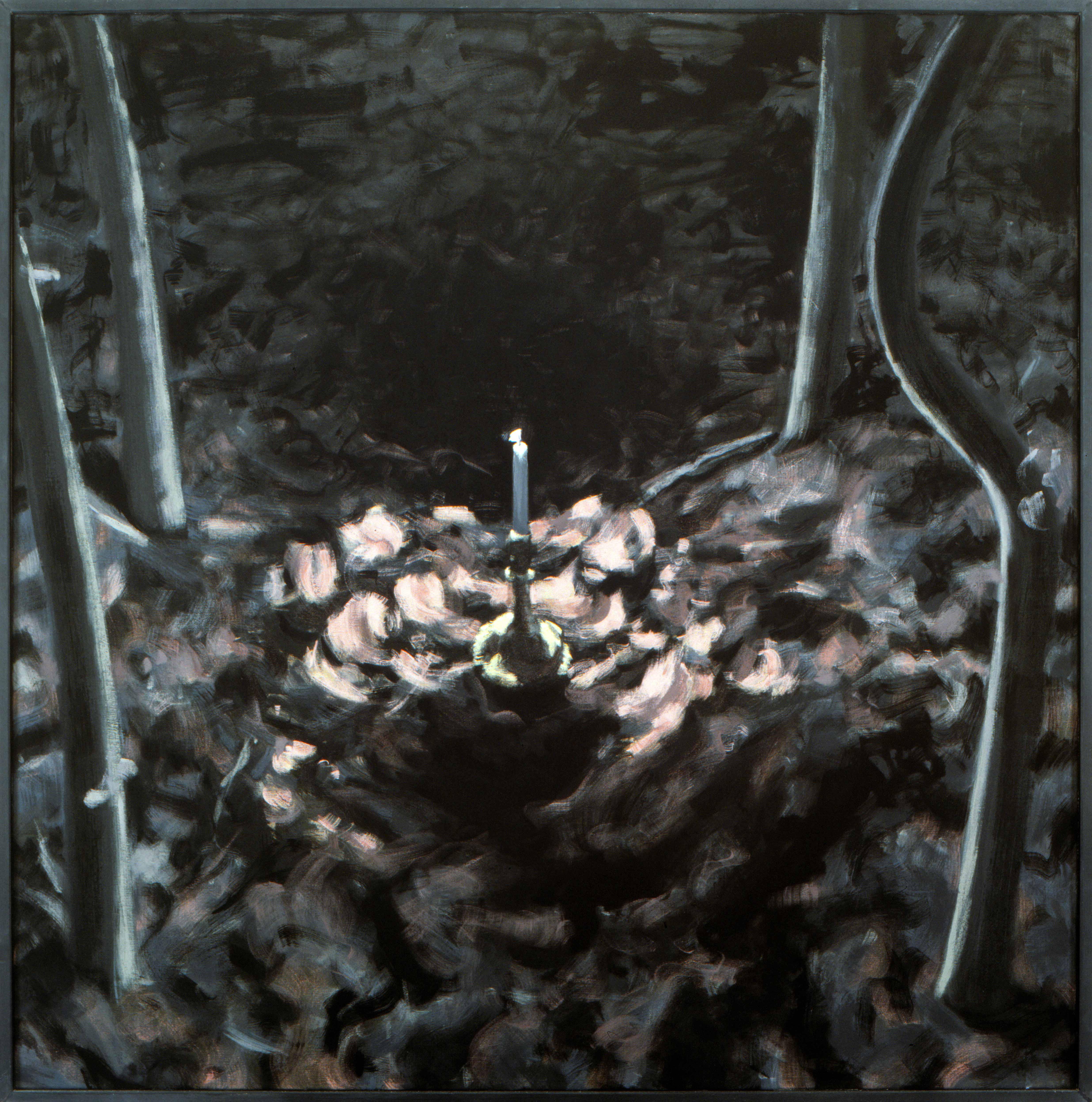 Kaars in de Nacht 1985 140x140cm