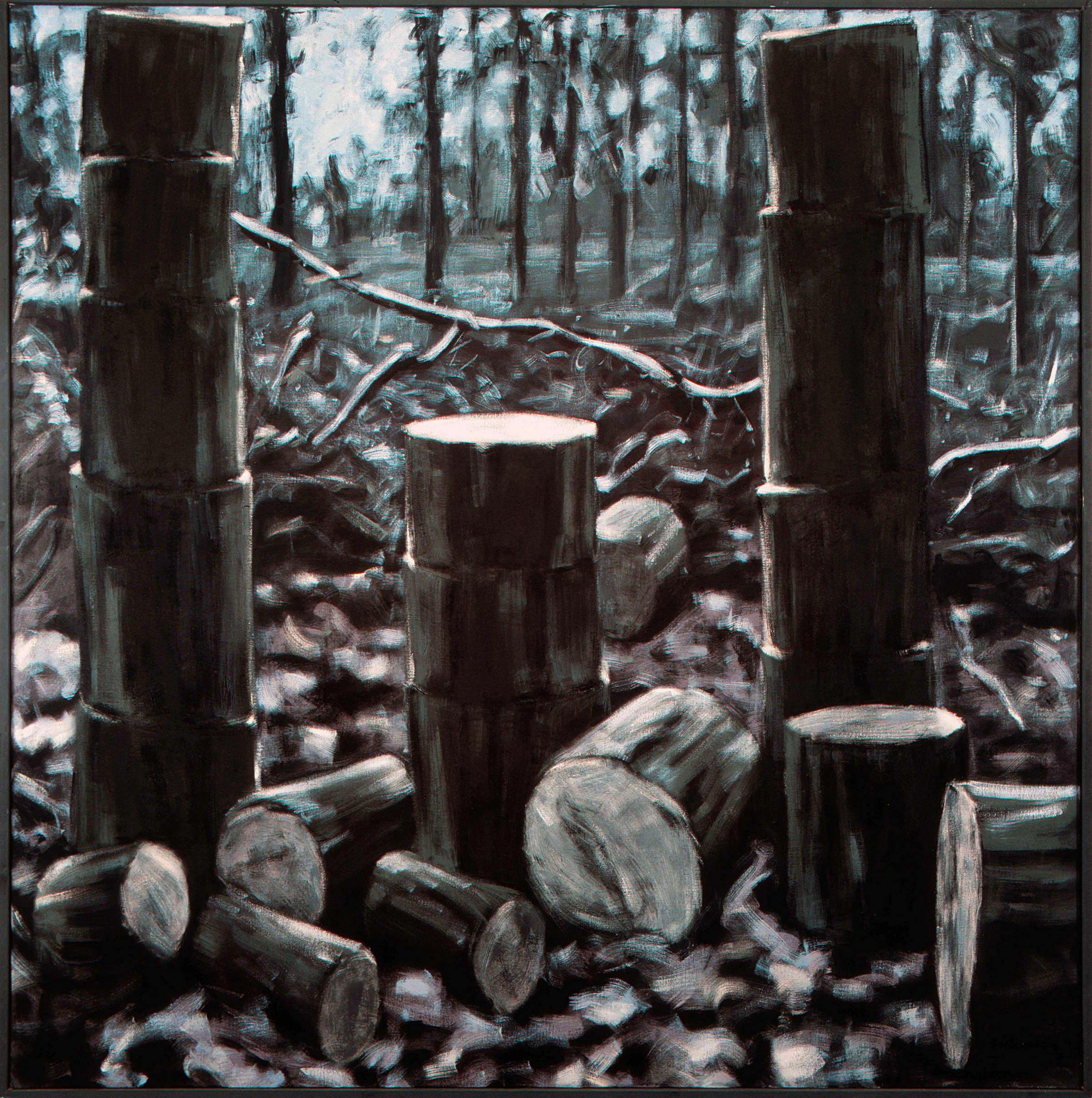 Ruïne 1983 200x200-cm