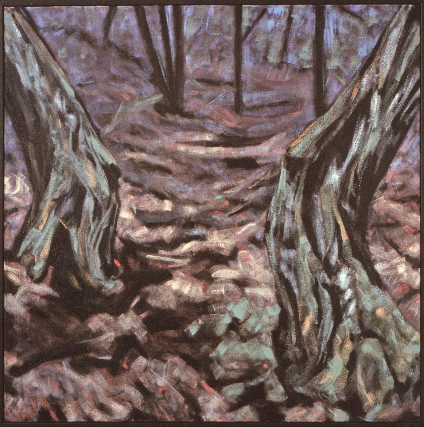 Twee bomen 1986 140x140