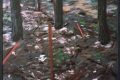 Bos met Paaltjes 2 1982-55x55