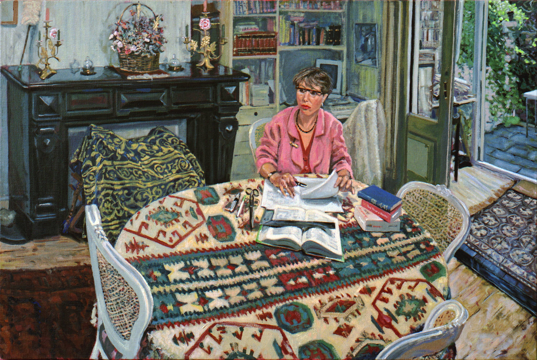 In opdracht: Angela 1993 66x100 cm