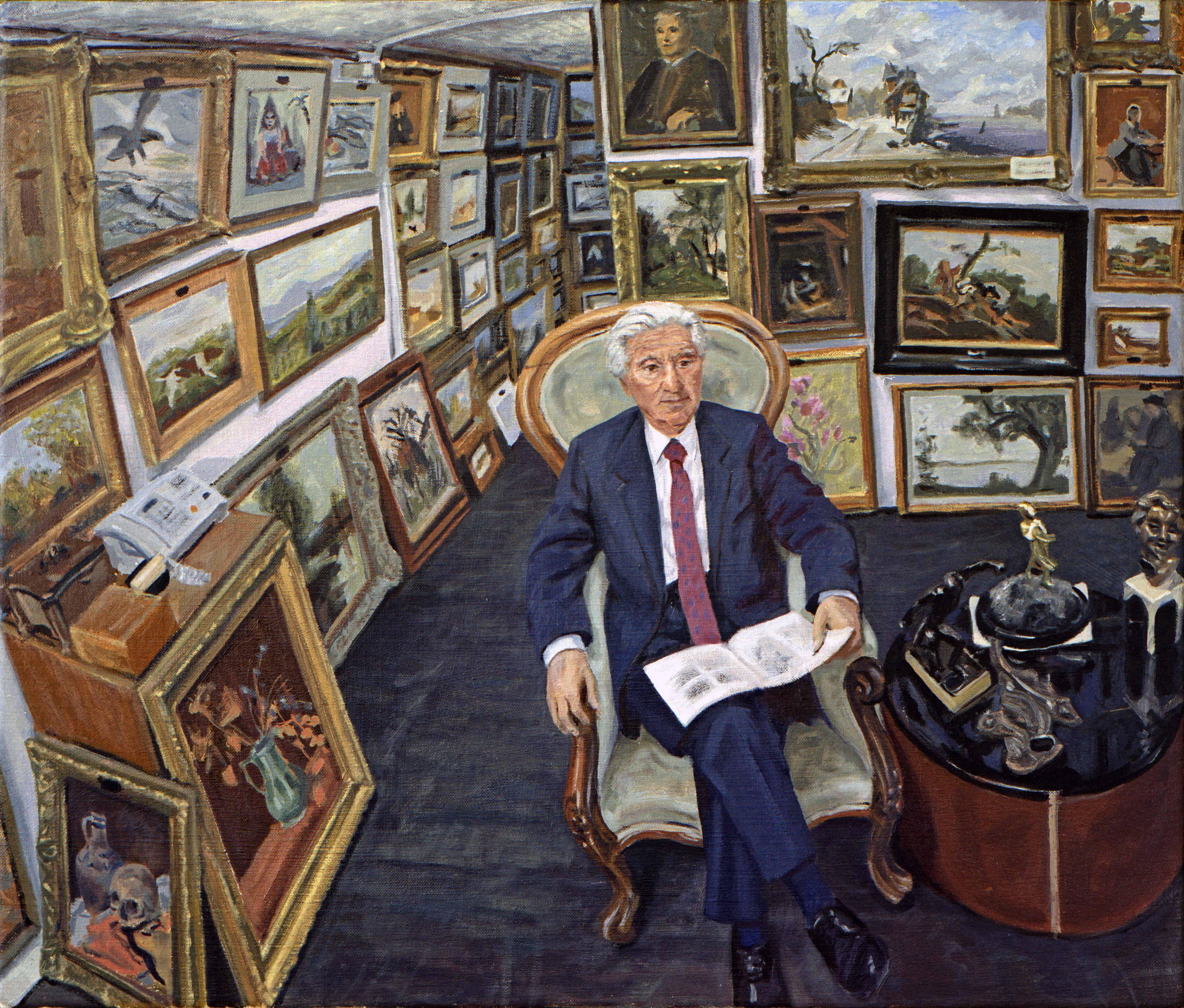 In opdracht: kunsthandelaar Knoop 2001