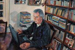 In opdracht: Marten v. A. 2005-42x42cm