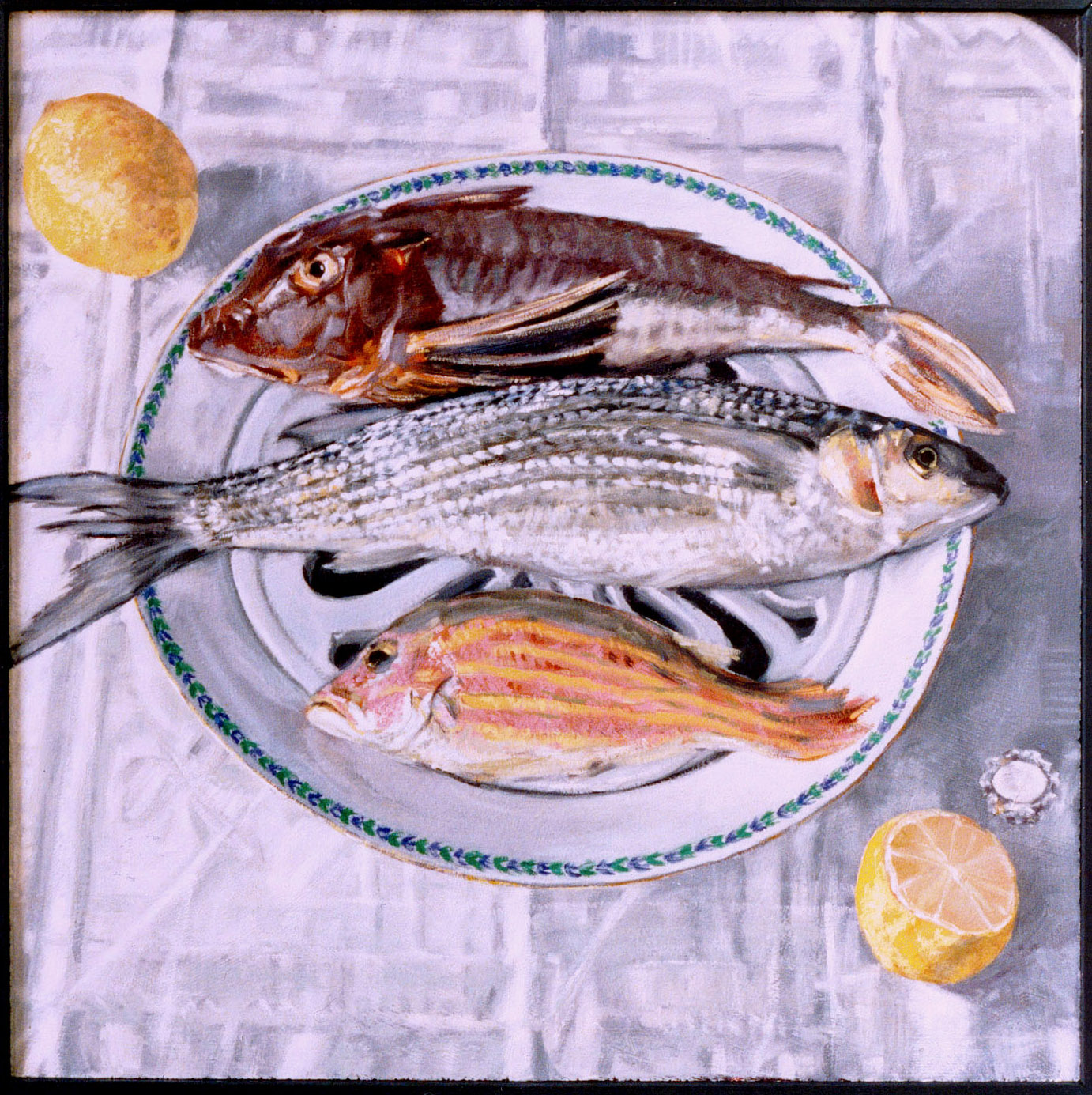 In Opdracht: Vissen, 50x50, 1995
