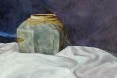 Twee gemberpotten 1975 54x45